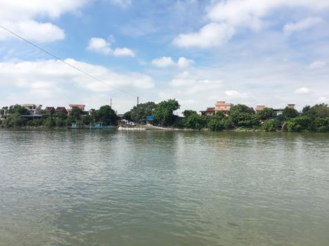 樟村大王洲渡口风景图