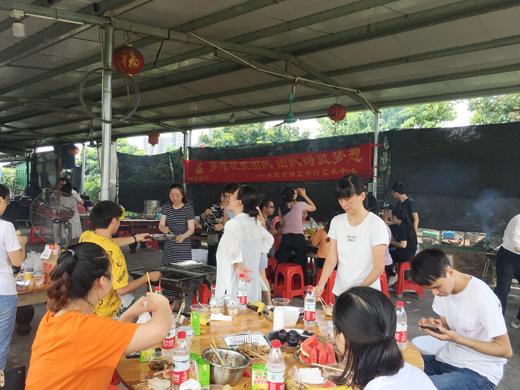博艺琴行-大王洲户外烧烤团建活动