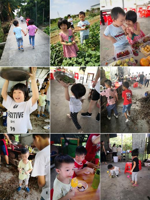 松山湖某幼儿园亲子户外集体野炊活动