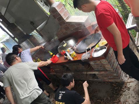 东莞柴火煮食