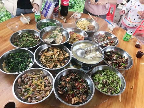 东莞大王洲农家乐柴火饭菜